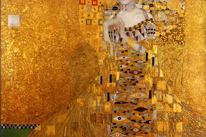 Γκούσταφ Κλιμτ - Gustav Klimt, Adele Bloch-Bauer I, 1907