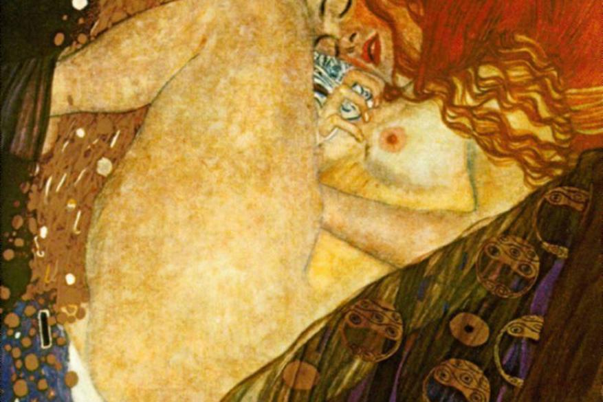 Γκούσταφ Κλιμτ - Gustav Klimt, Δανάη, 1907 - 1908