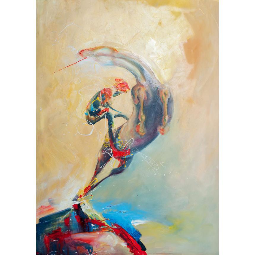 Πίνακας ζωγραφικής Άλμα Αλόγου