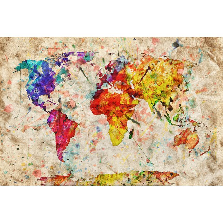Πίνακας Παγκόσμιος χάρτης
