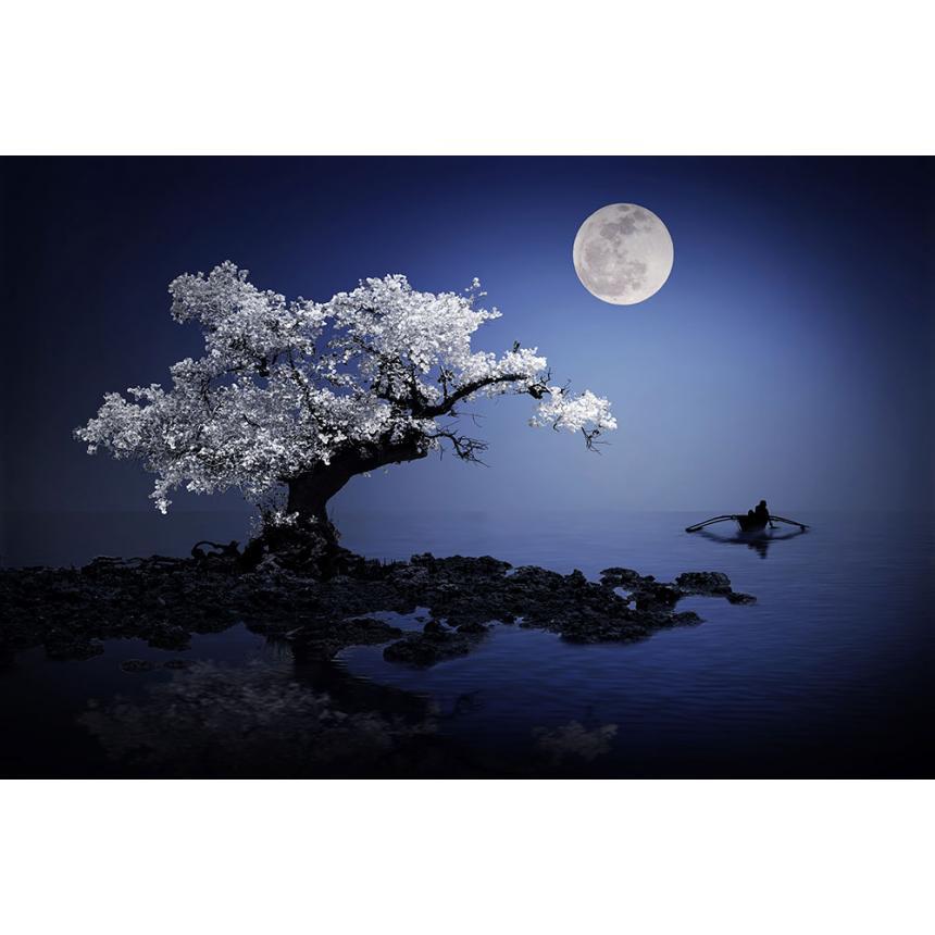 Πίνακας Φεγγάρι και Θάλασσα