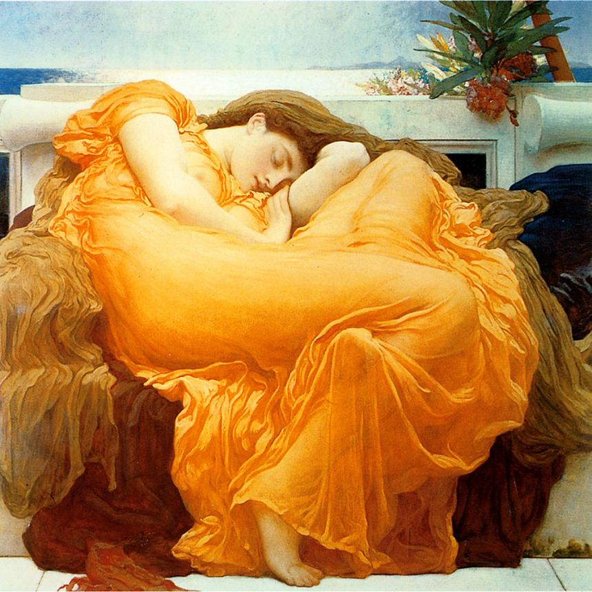 Sir Frederic Leighton - Φλόγα τον Ιούνιο Flaming June