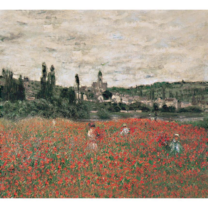 Πίνακες ζωγραφικής Claude Monet - Poppy field near Vétheuil