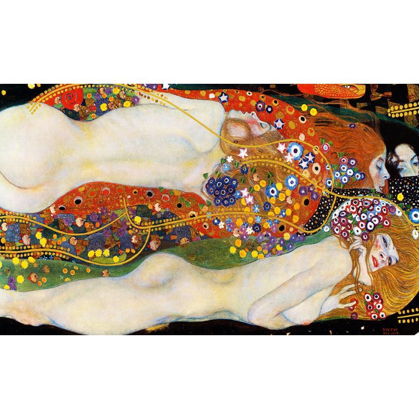 Gustav Klimt Water Serpents