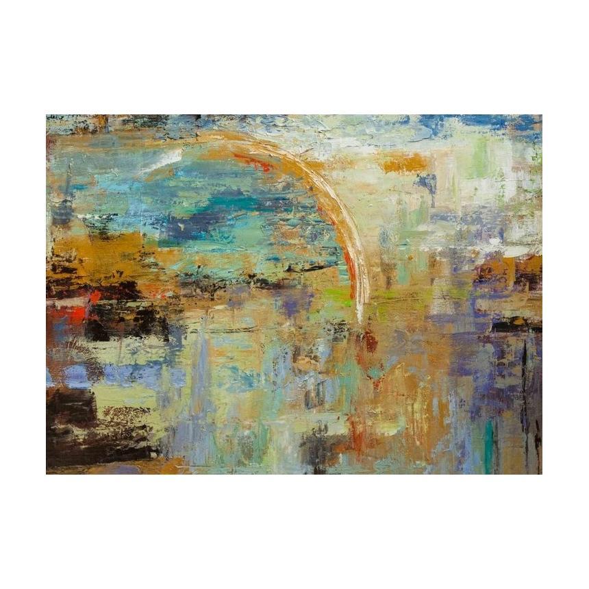 Πίνακας Abstract Μισός Κύκλος