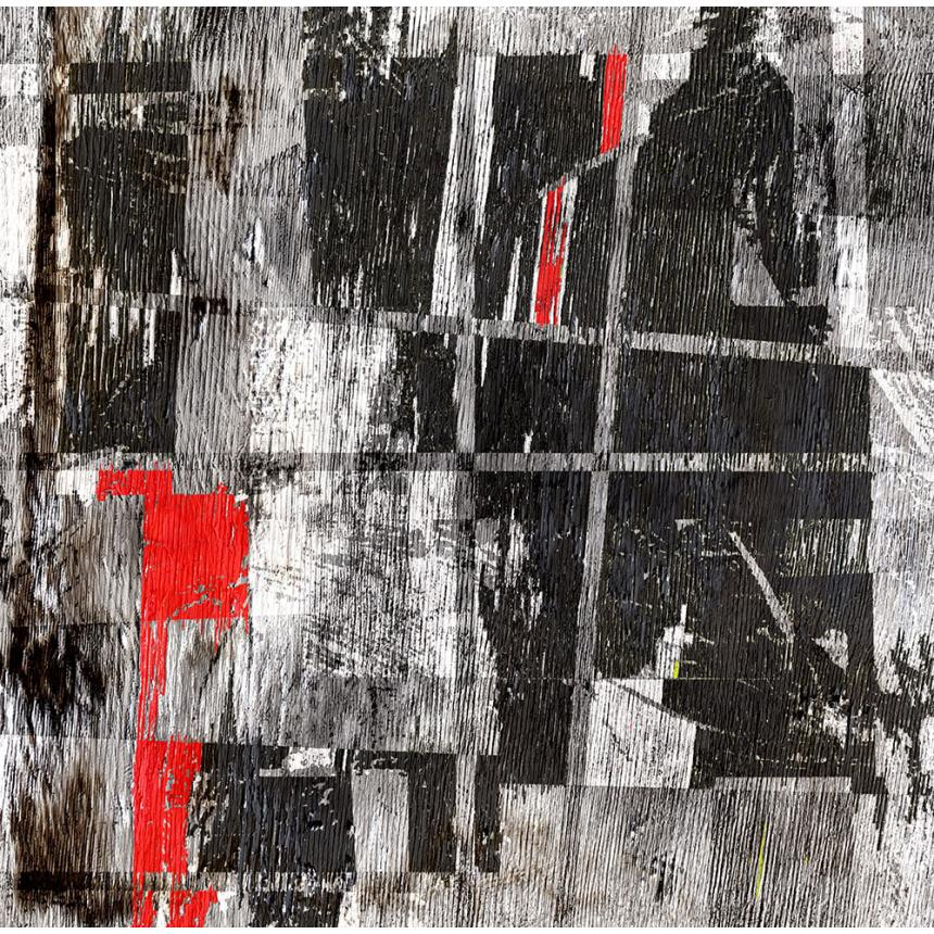 Abstract Κόκκινο - Μαύρο