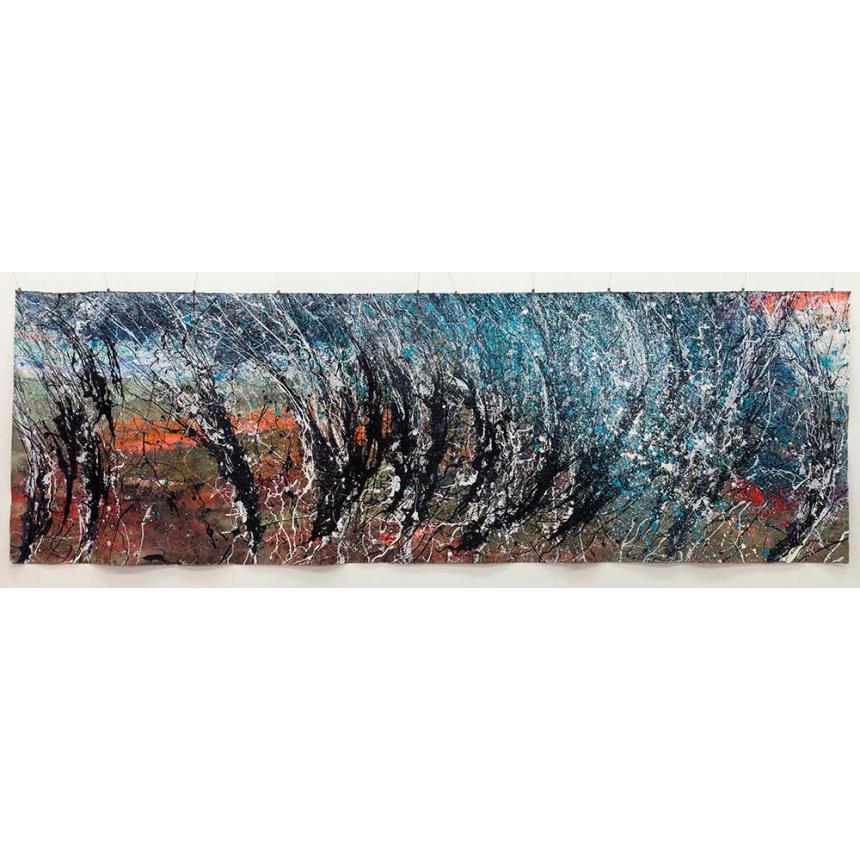 Πίνακας σε καμβά Abstract Κλαδιά