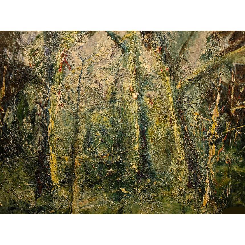 Πίνακας ζωγραφικής Abstract δέντρα