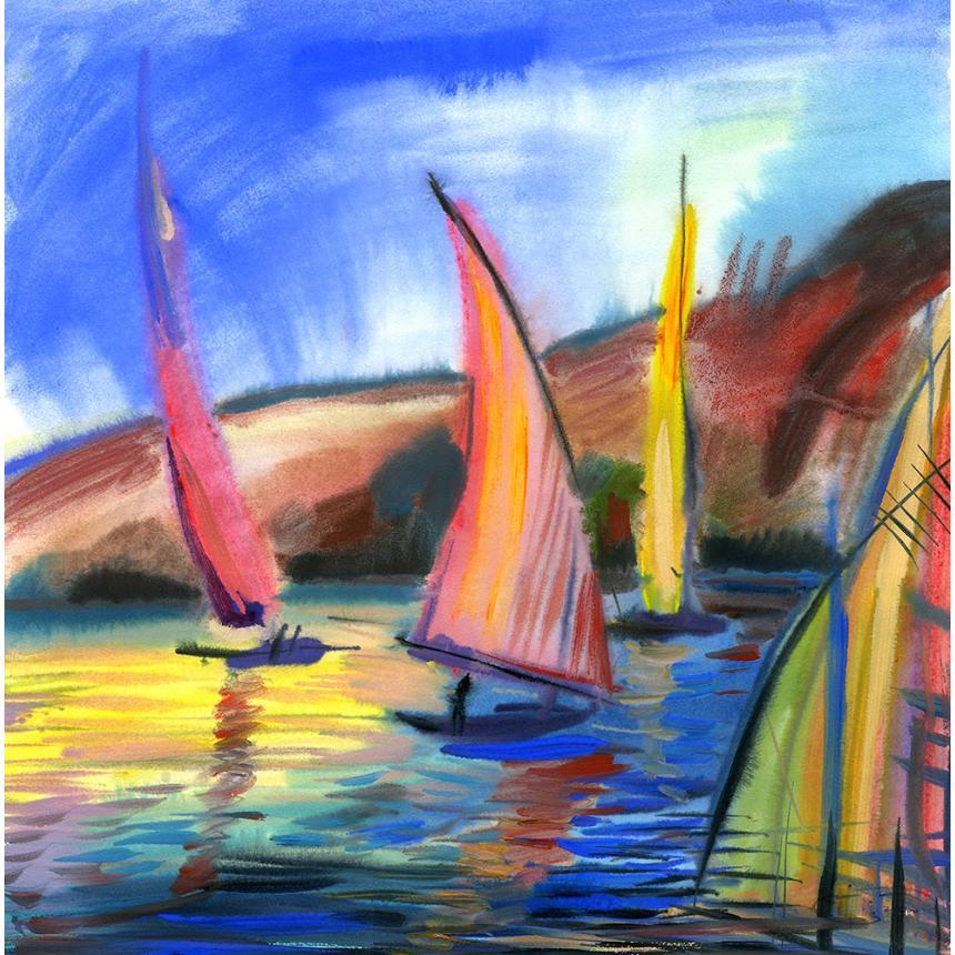 Πίνακας Χρώματα ιστιοπλοϊκών