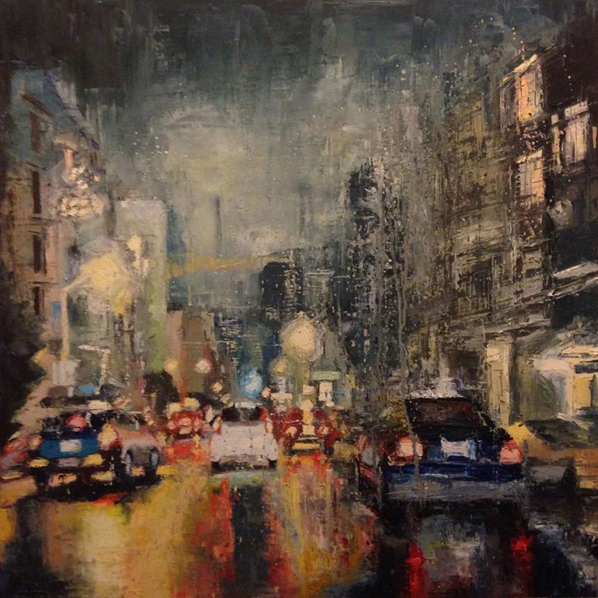 Βροχή στο Δρόμο