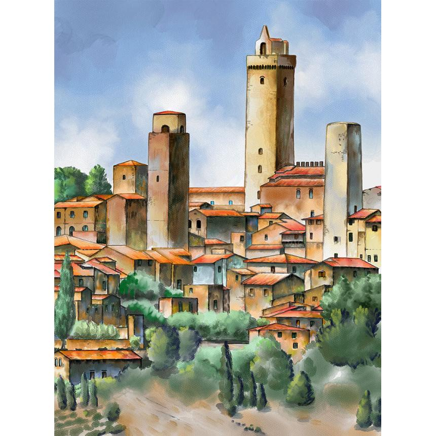 Πύργος στο χωριό