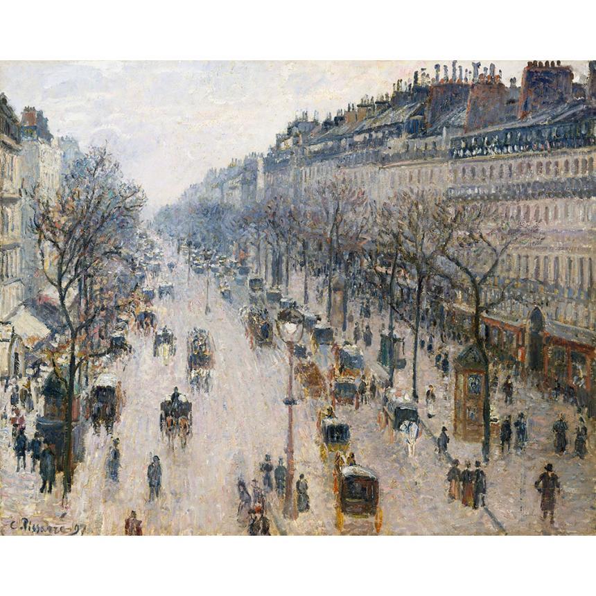 Χειμωνιάτικο πρωινό στην Montmartre Παρίσι