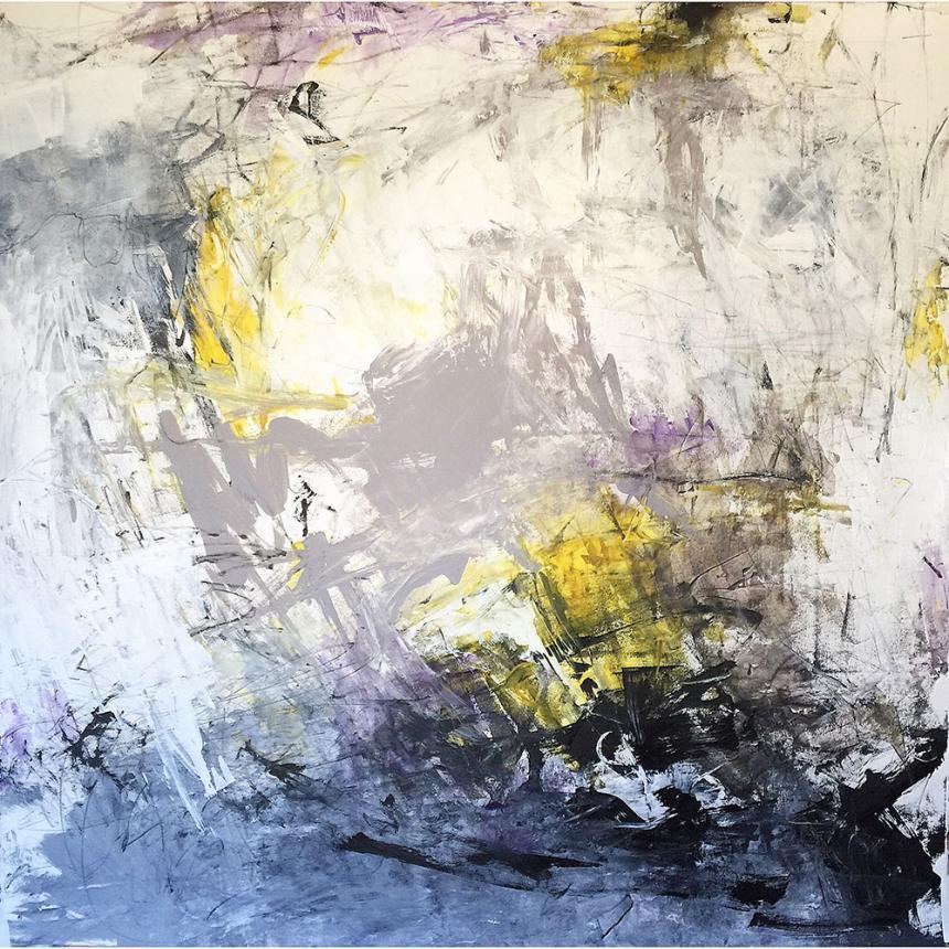 Πίνακας ζωγραφικής Abstract πινελιές 5