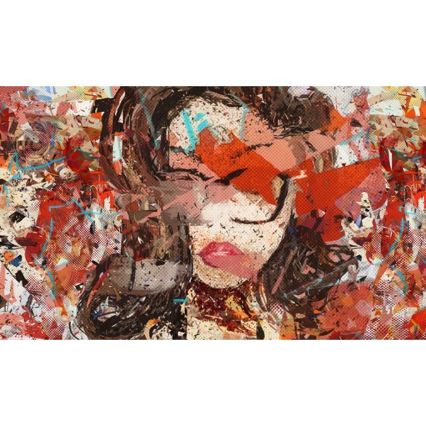 Πίνακας Abstract Χωρίς βλέμμα