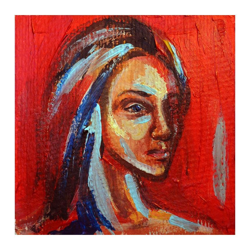 Πίνακας ζωγραφικής Γυναικείο πρόσωπο