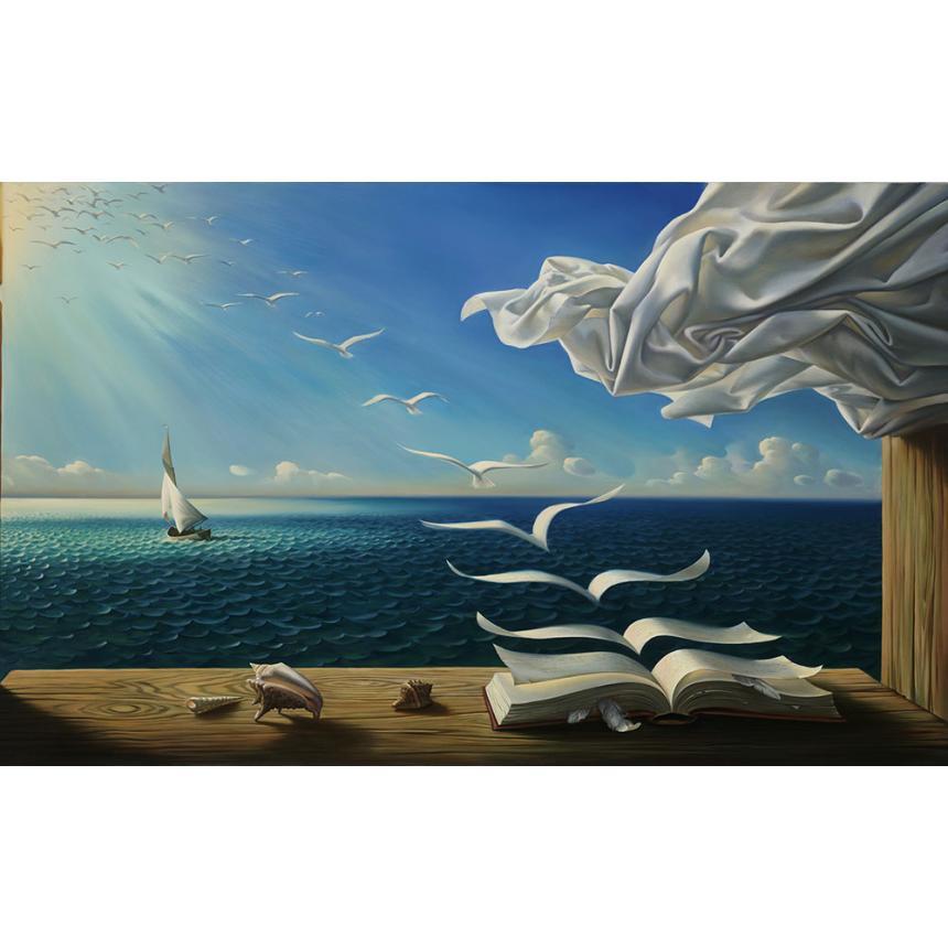 Πίνακας σε καμβά Ελευθερία σκέψης