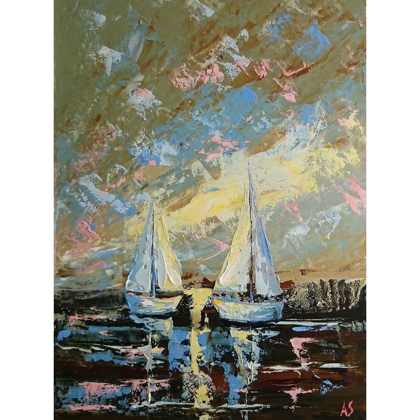 Πίνακας ζωγραφικής Ιστιοπλοϊκά 2