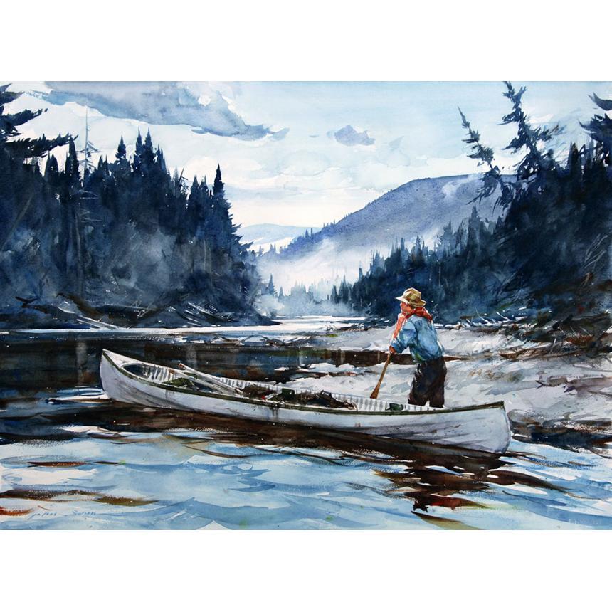 Πίνακας ζωγραφικής Στο ποτάμι