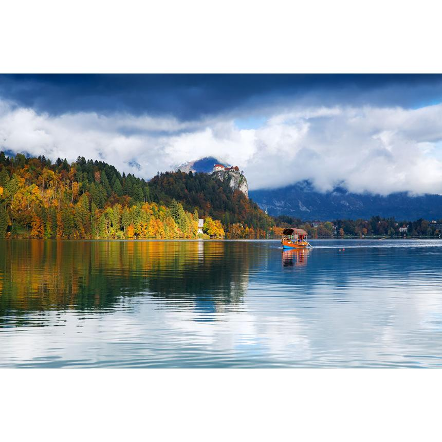 Πίνακας Τοπίο λίμνης