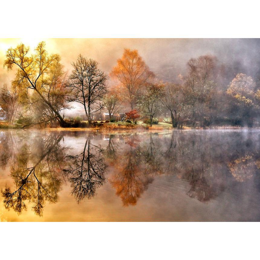 Πίνακας Αντικατοπτρισμός στη λίμνη