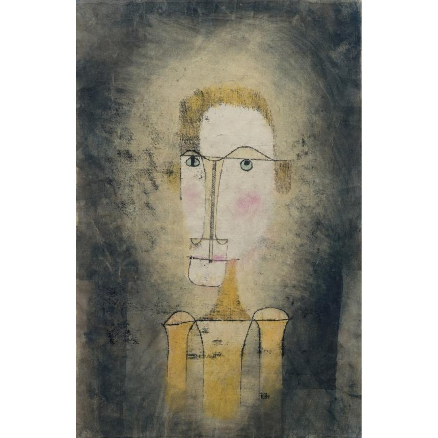 Paul Klee  Portrait of a Yellow Man