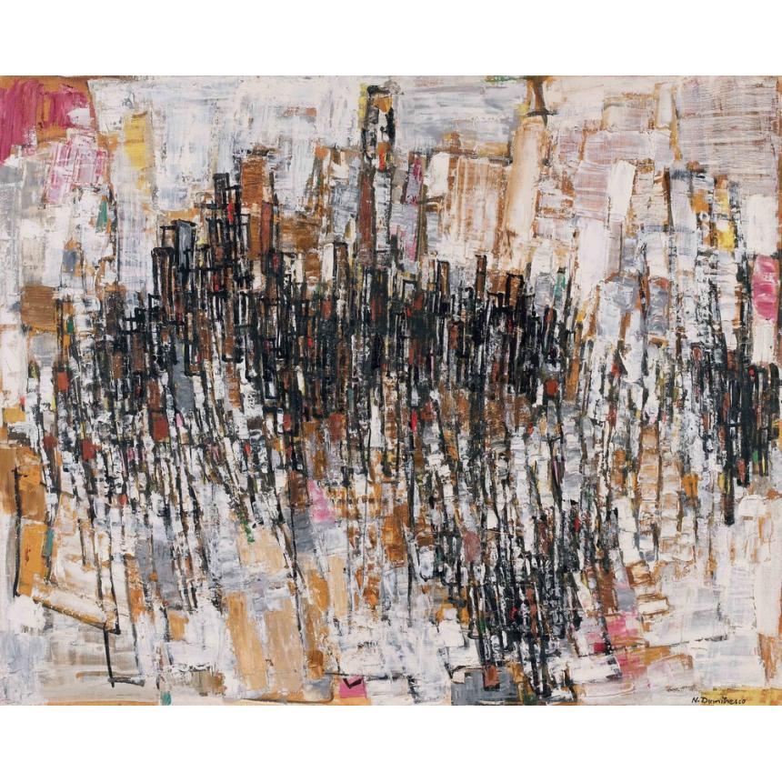 Πίνακας Abstract πόλη