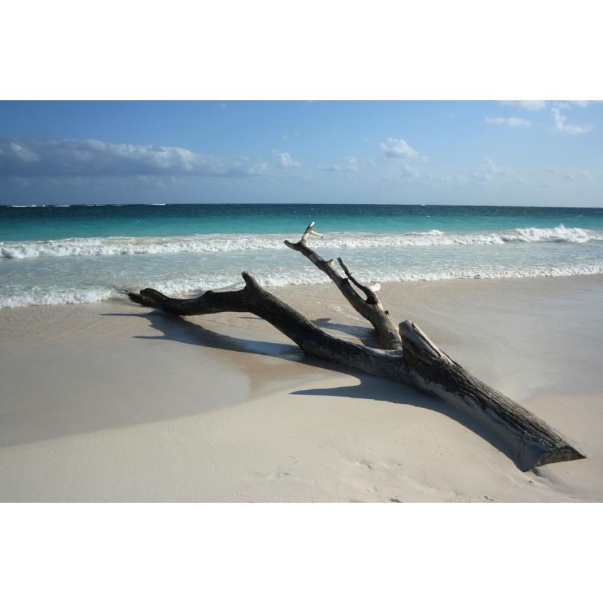 Φωτογραφικό έργο παραλία minimal