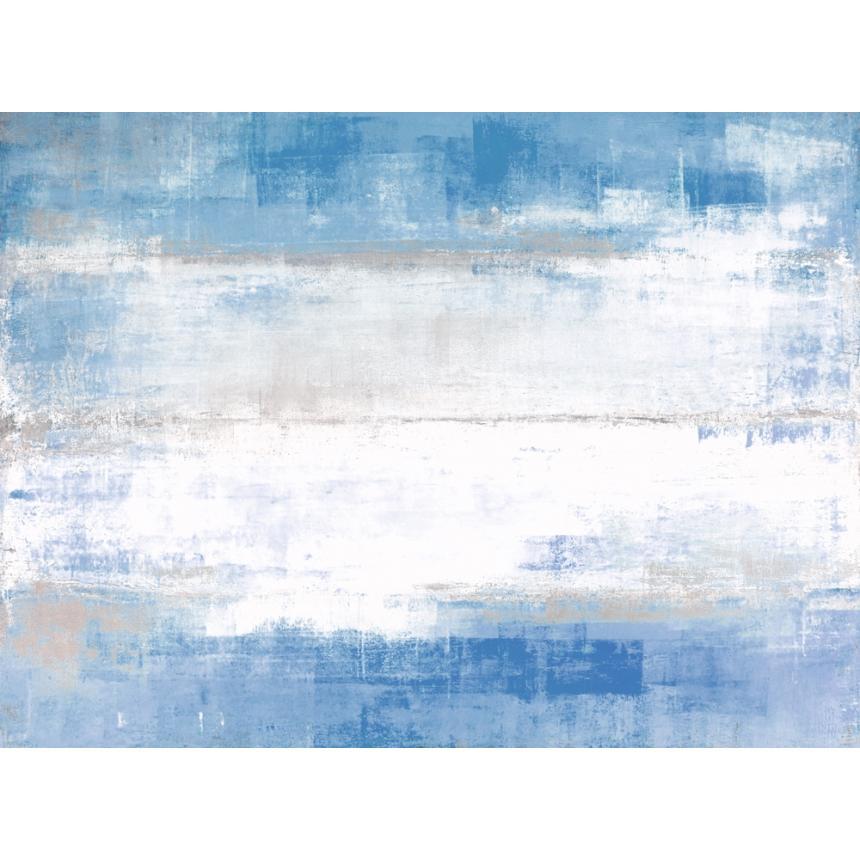 Πίνακας Abstract  γαλάζιες αποχρώσεις