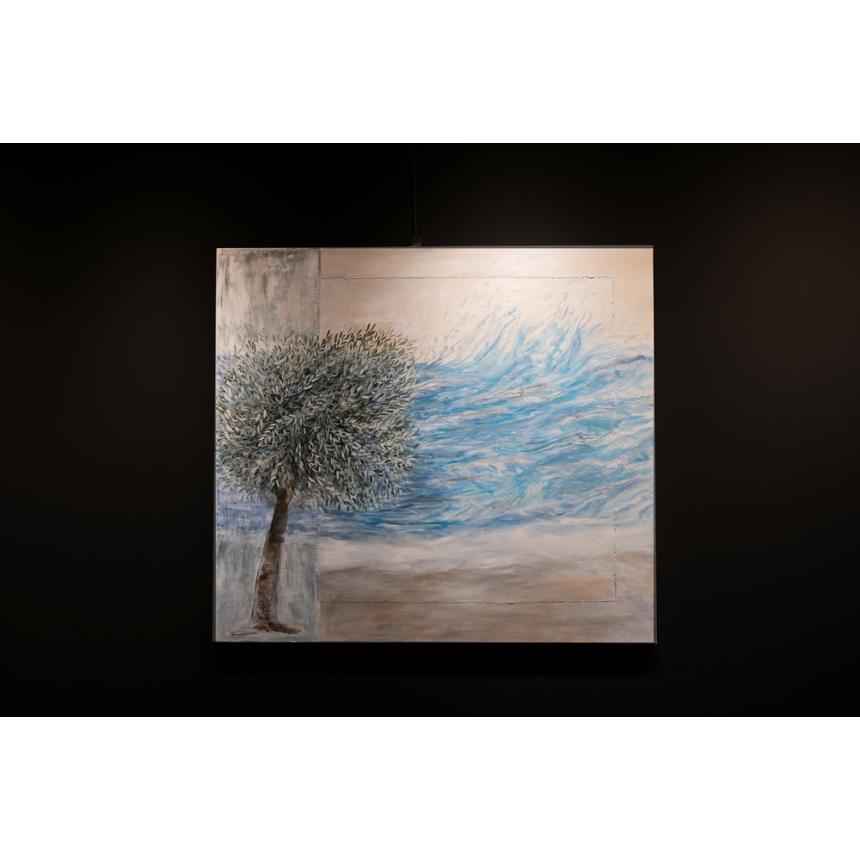 Πίνακας Ελιά στη θάλασσα