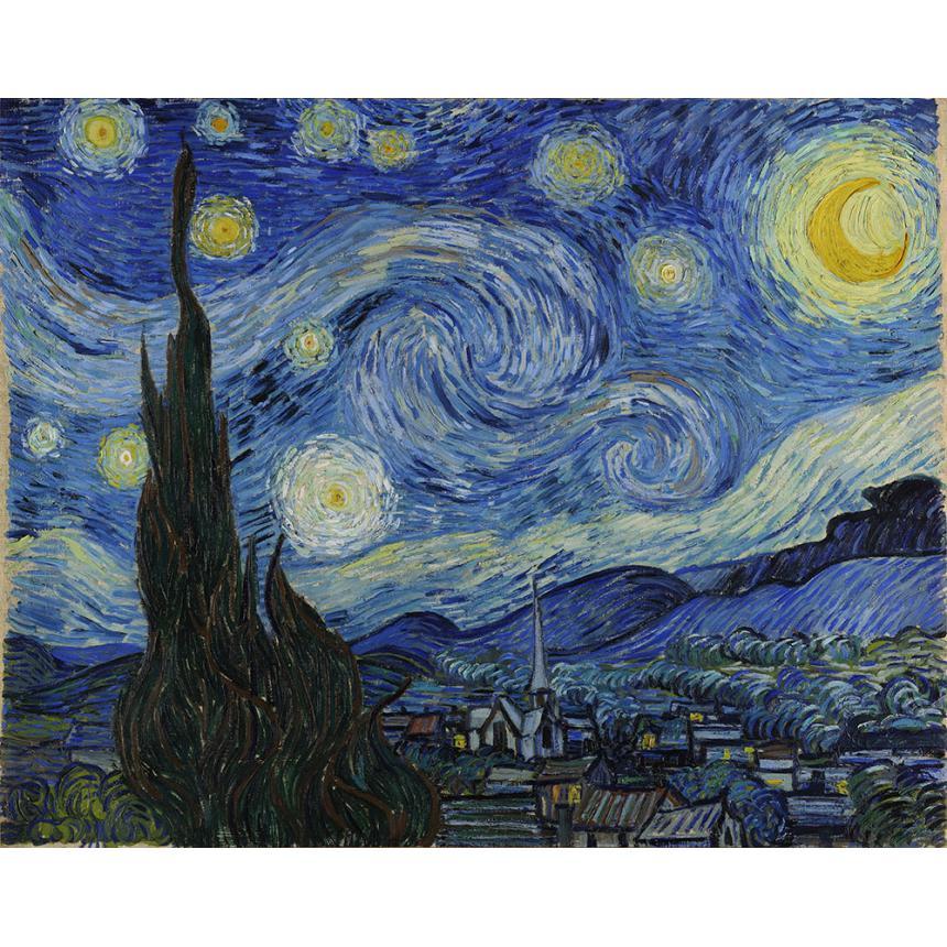 Πίνακας Van Gogh Έναστρη Νύχτα Starry Night