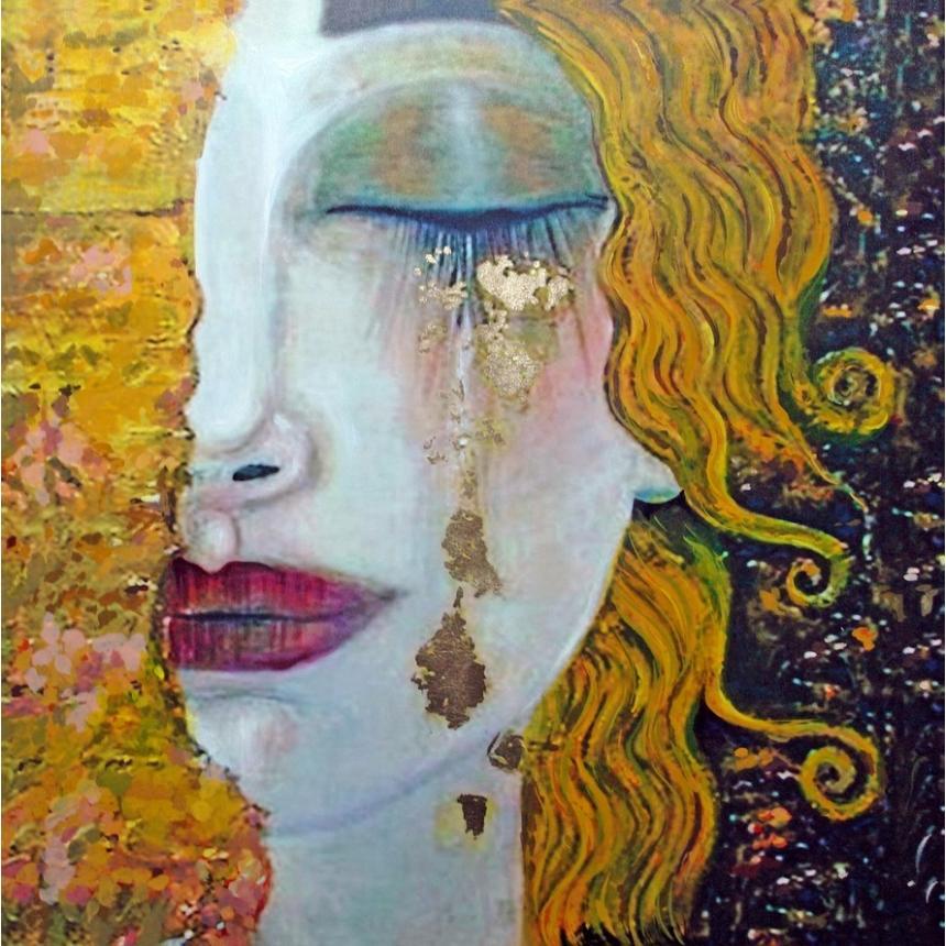 Πίνακας Gustav Klimt - Golden Tears