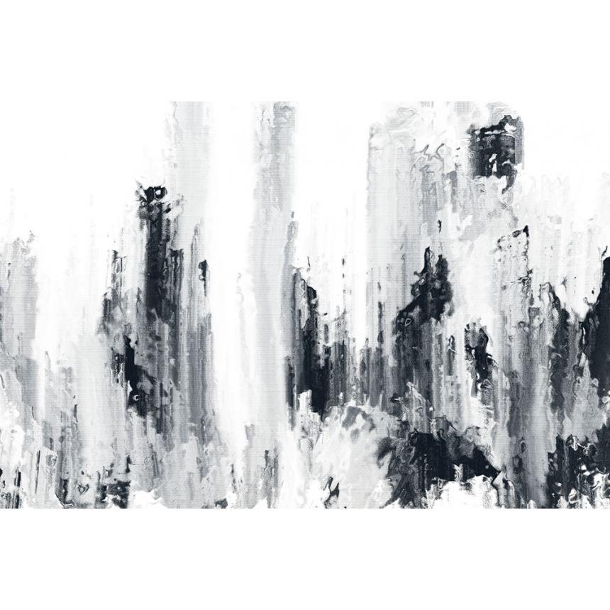 Πίνακας Abstract άσπρο -μαύρο B/W