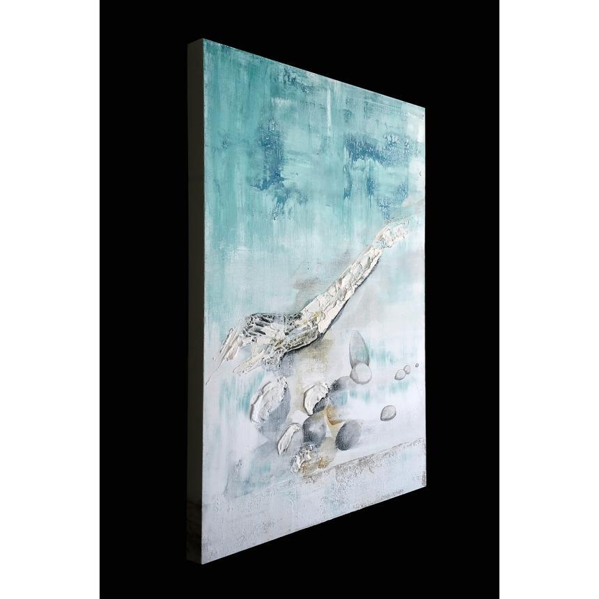 Πίνακας Abstract  βότσαλα