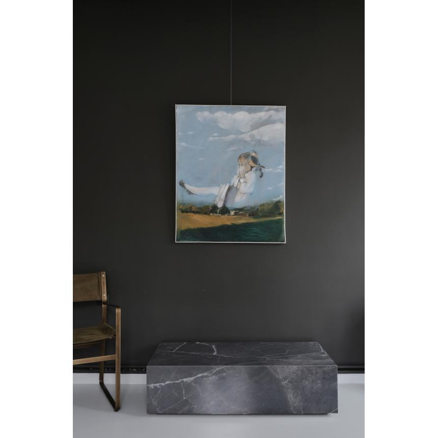 Πίνακας ζωγραφικής ελαιογραφία ''Κούνια''
