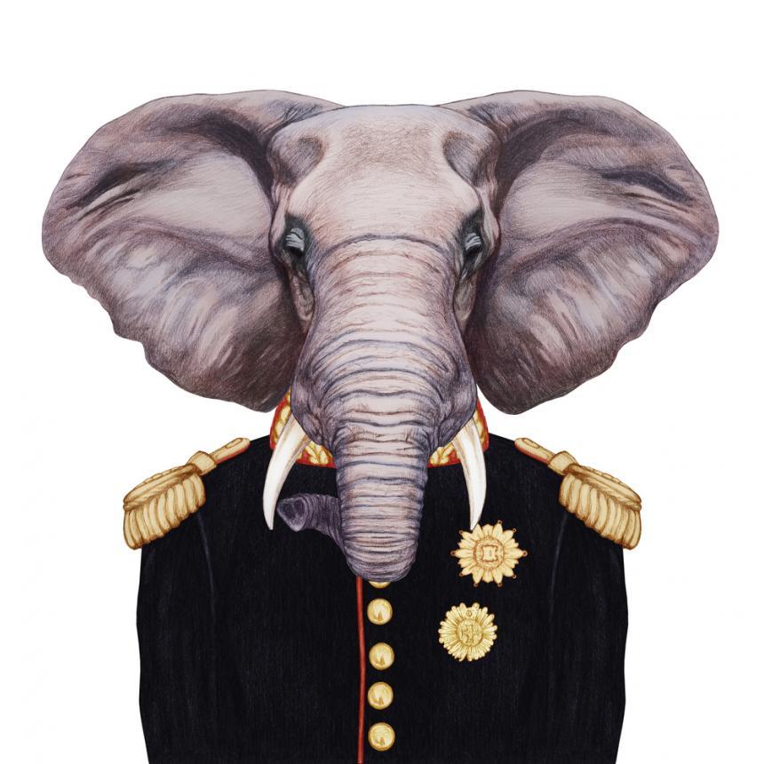Πίνακας Ελέφαντας στρατηγός