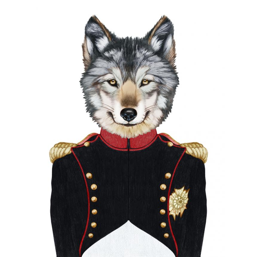 Πίνακας Λύκος στρατηγός