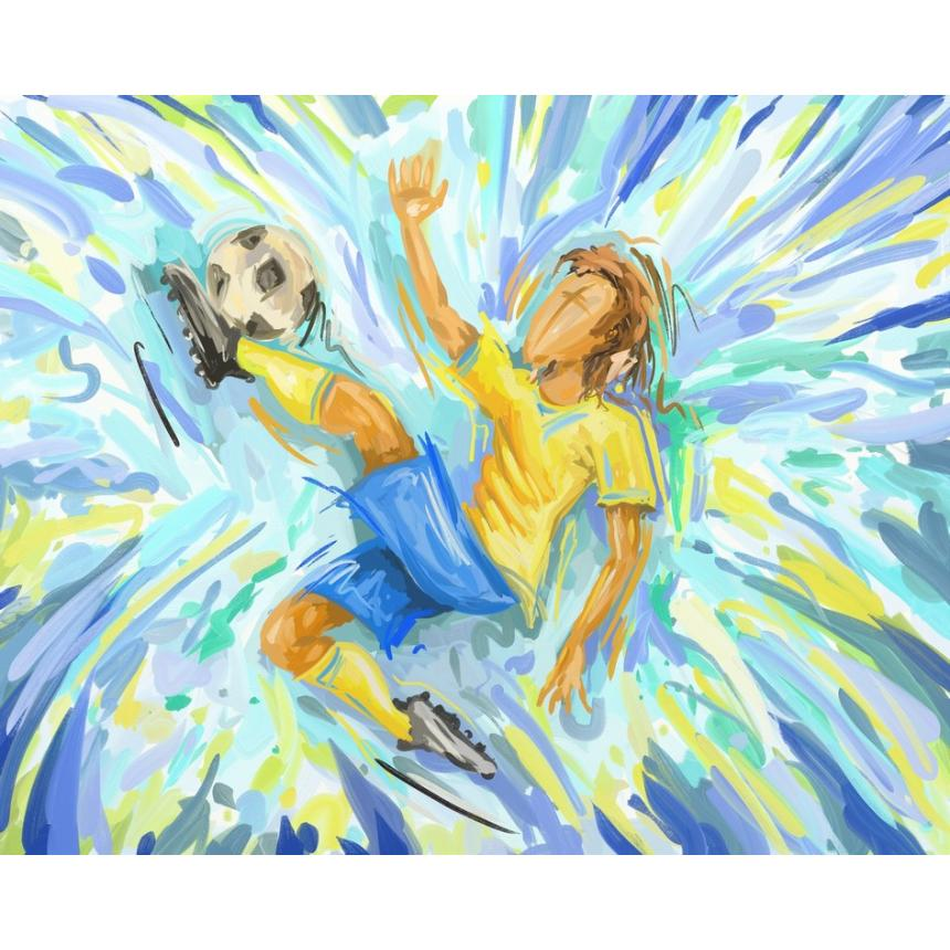 Πίνακας σε καμβά Μπάλα - Βραζιλία