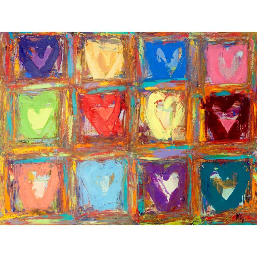Πίνακας Καρδιές