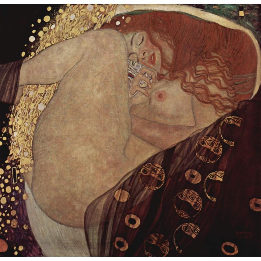 Πίνακας Klimt - Danae