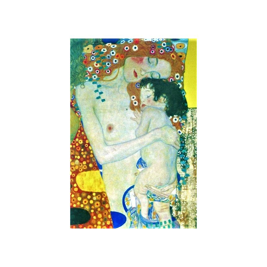 Πίνακας Klimt - Mother and Child