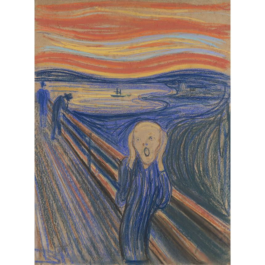 Πίνακας Edvard Munch - H Κραυγή