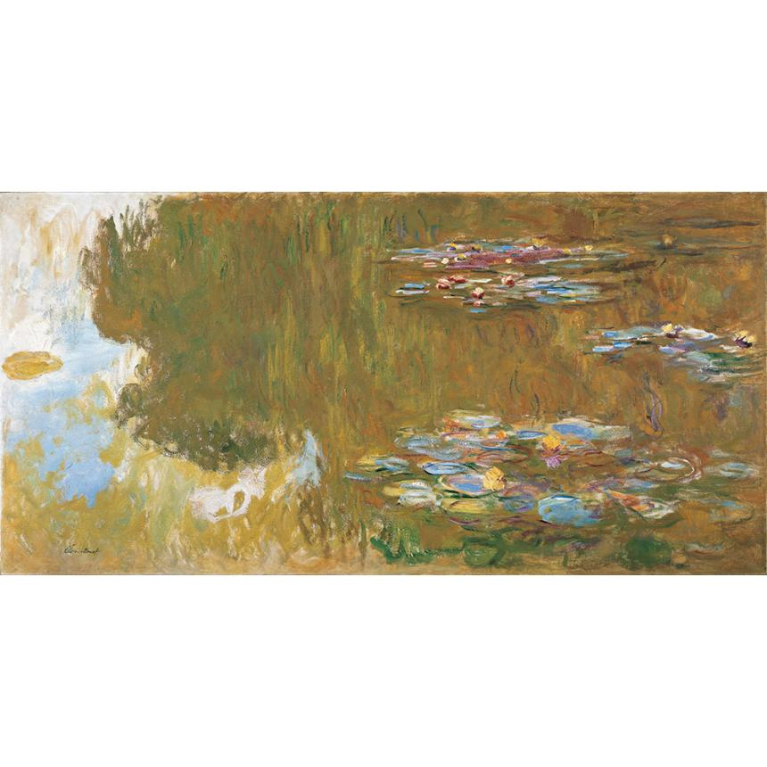 Claude Monet - Η λίμνη με τα νούφαρα The Water Lily Pond