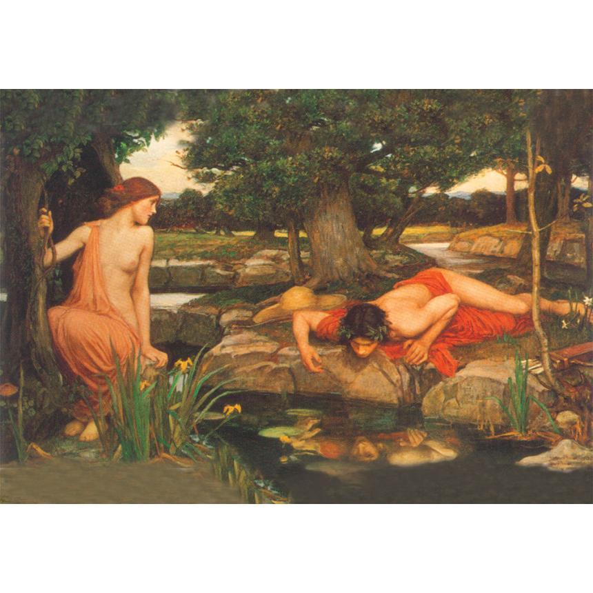 Πίνακας Echo and Narcissus