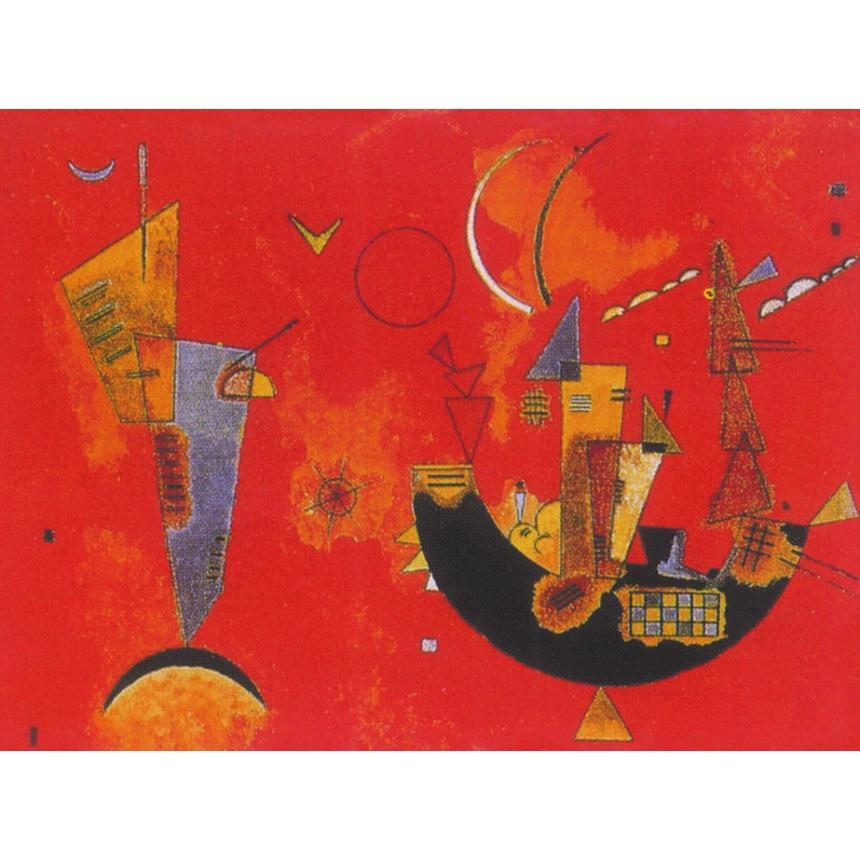 Πίνακας Wassily Kandinsky - Mit Und Gegen