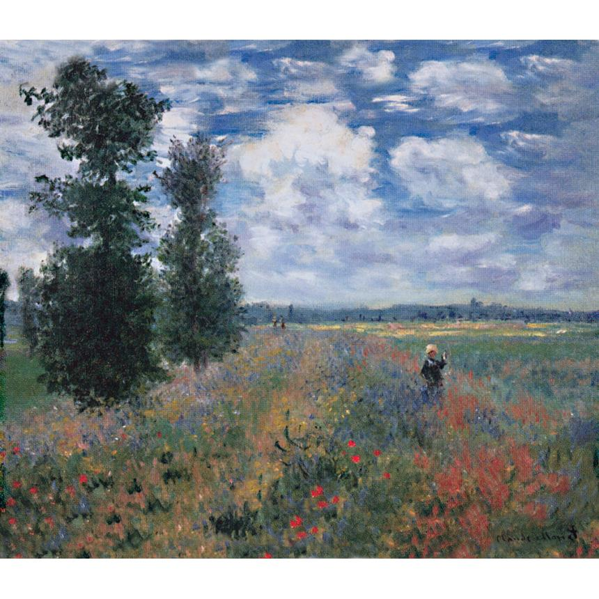Claude Monet - Champ de coquelicots
