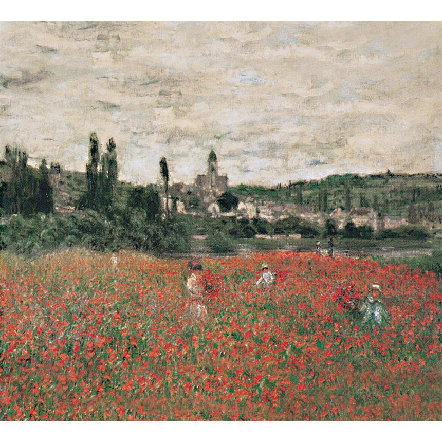 Πίνακες ζωγραφικής Claude Monet - Poppy field near Vétheuil