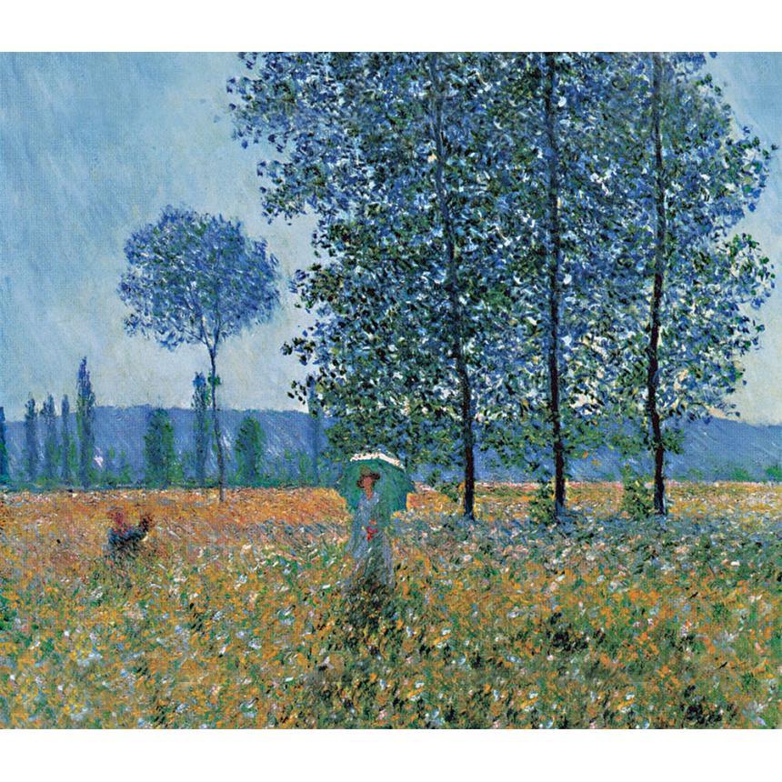 Πίνακας Claude Monet - Sunlight Effect under the Poplars