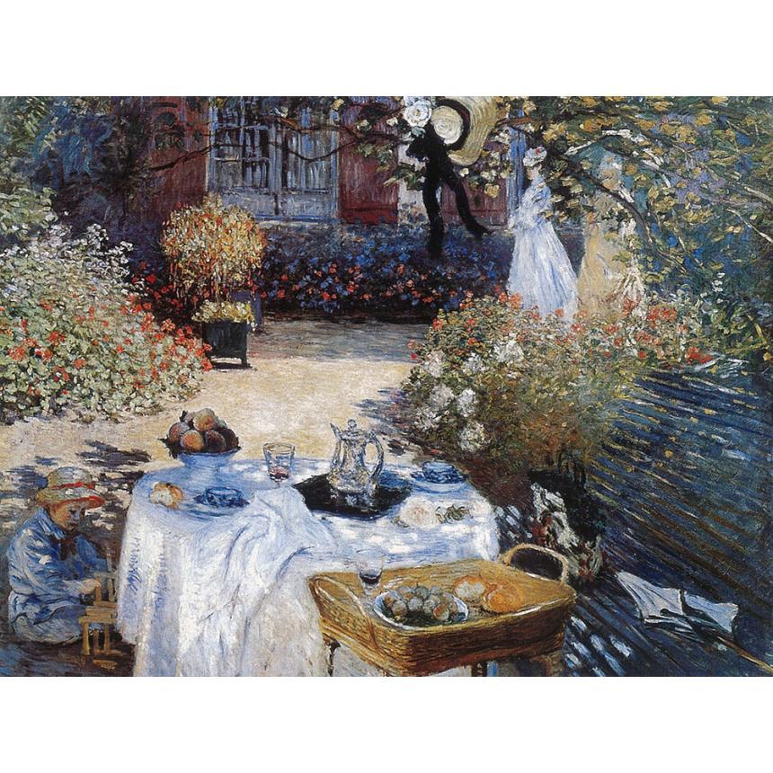 Πίνακας Claude Monet - Το γεύμα The lunch