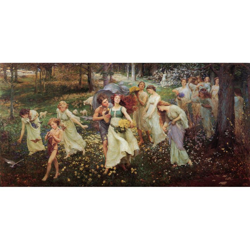 Πίνακας Charles Daniel Ward - The Progress of Spring