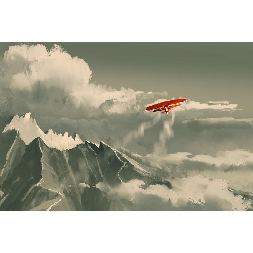 Πίνακας σε καμβά Αεροπλάνο